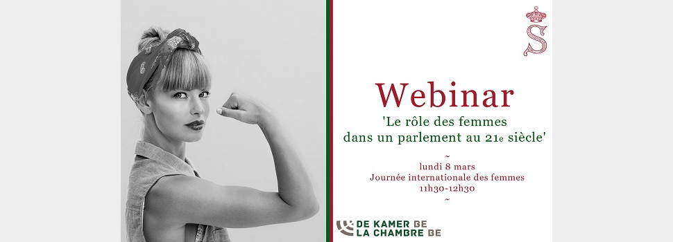 Webinar International Women's Day - 8 March